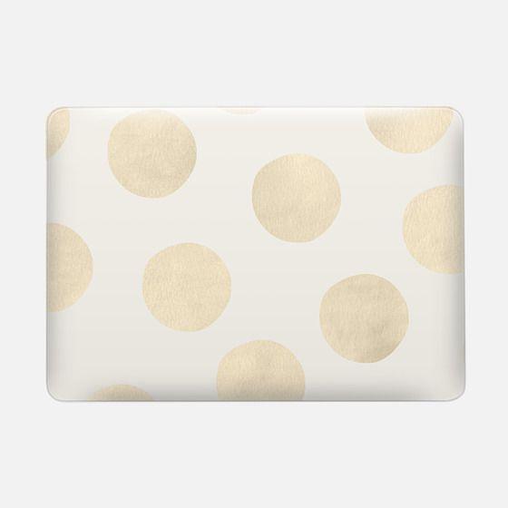 Gold Polka Dots -
