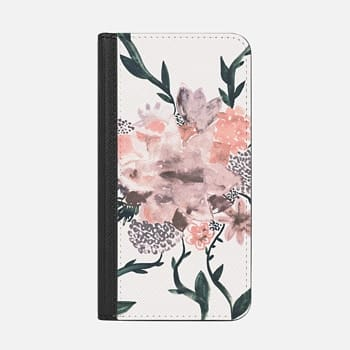 iPhone Wallet Case -  Summer Flowers