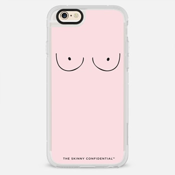 iPhone 6 Case The Boobs: Bubblegum Pink