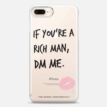 iPhone 8 Plus Case The Gold Digger: Naked