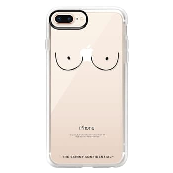 Grip iPhone 8 Plus Case - The Boobs: Naked