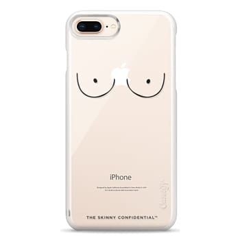 Snap iPhone 8 Plus Case - The Boobs: Naked