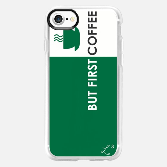 But First Coffee - Starbucks - Foodie - Wallet Case