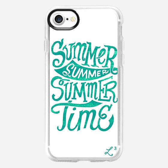 Summer Summer Summer Time - Ocean Teal - Wallet Case