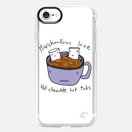 Fall Collection - Marshmallows Love Hot Tubs - Wallet Case