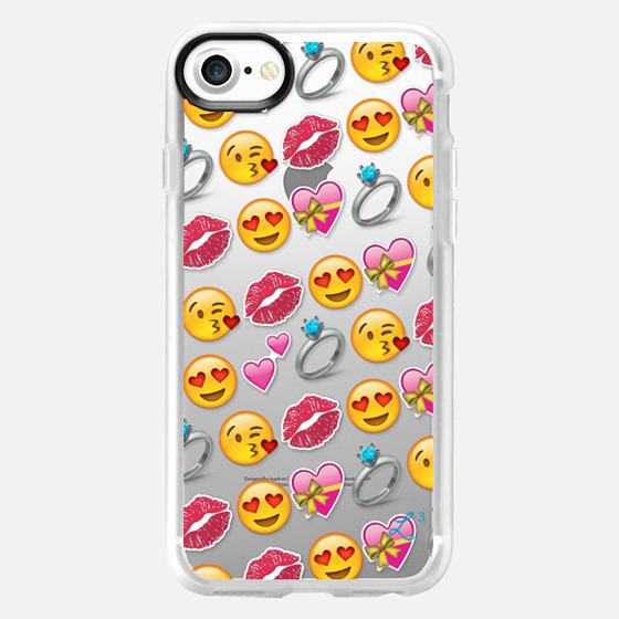 Love Emoji - Valentine's Day - Wallet Case