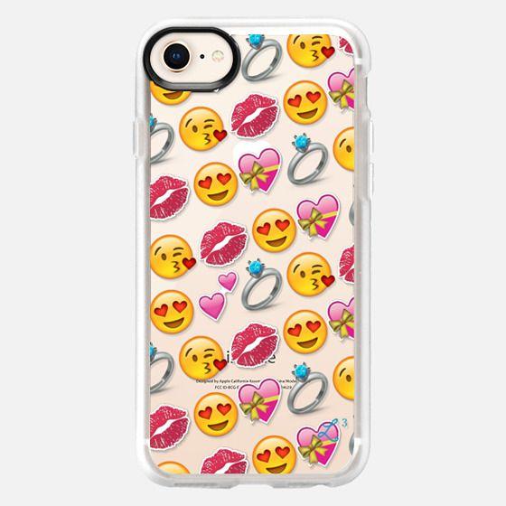 Love Emoji - Valentine's Day - Snap Case