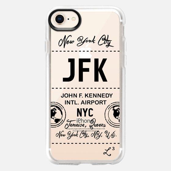 JFK - New York City - Travel The World - Snap Case