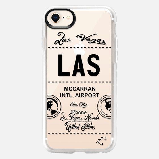 LAS - Las Vegas, NV - Travel The World - Snap Case