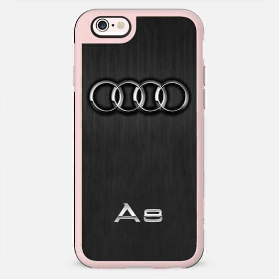 Audi Black and Silver - New Standard Case
