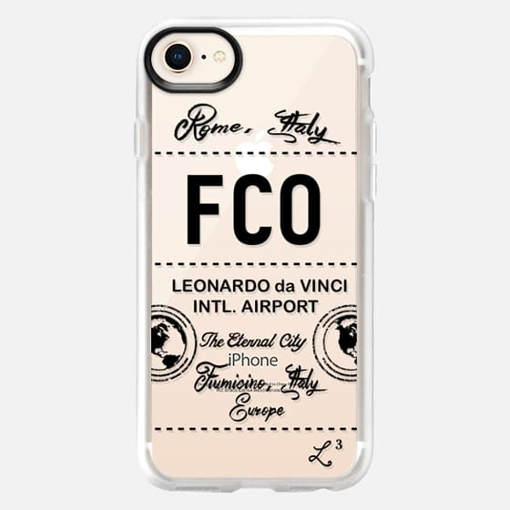 FCO - Rome, Italy - Travel The World - Snap Case
