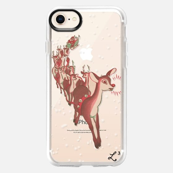 Rudolph The Red Nosed Reindeer - Snap Case