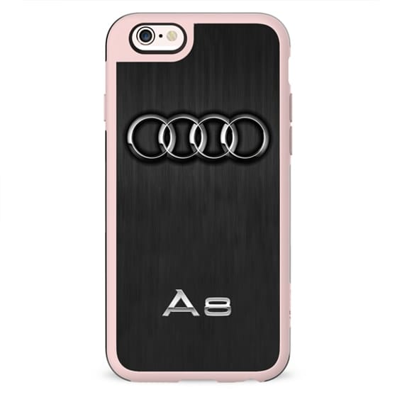 Audi Black and Silver
