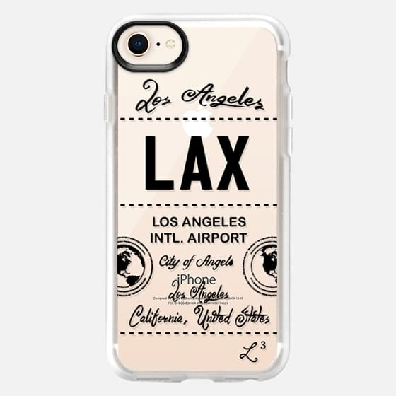 LAX - Los Angeles, CA - Travel The World - Snap Case
