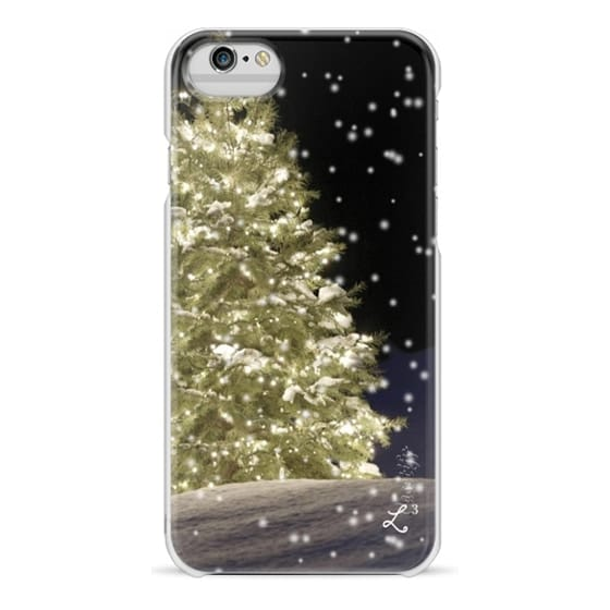 iPhone 6 Cases - Holidays White Christmas Night