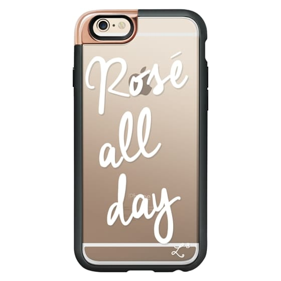 iPhone 6 Cases - Rose' All Day - White Transparent
