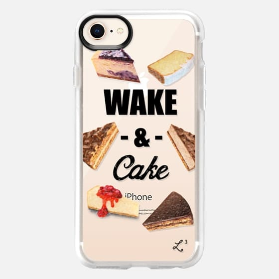 Wake and Cake - Foodie Collection - Snap Case