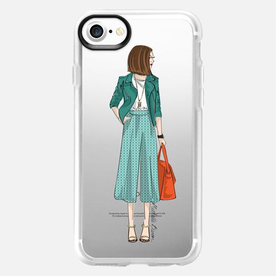 City Chic Fashion Illustration - Wallet Case