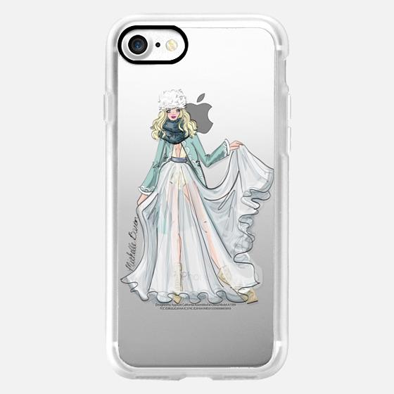 Ice Princess Fashion Illustration -