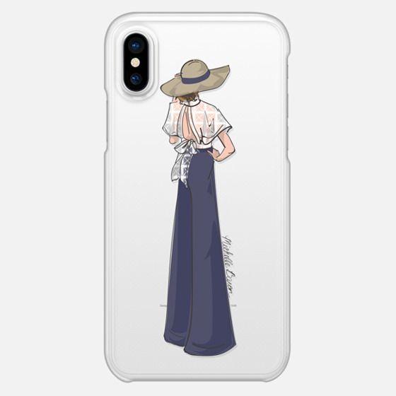 Lace Detail Fashion Illustration