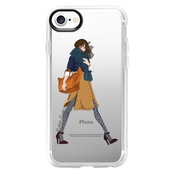 Samsung Galaxy S2 Cases - Fall Winter Style Fashion Illustration