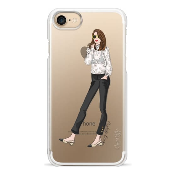 iPhone 7 Cases - Spring Chic Fashion Illustration