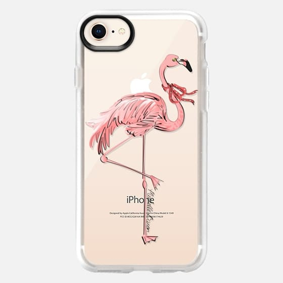 Stylish Flamingo - Snap Case
