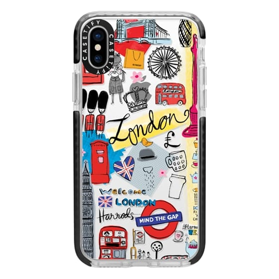 iPhone X Cases - London Travel