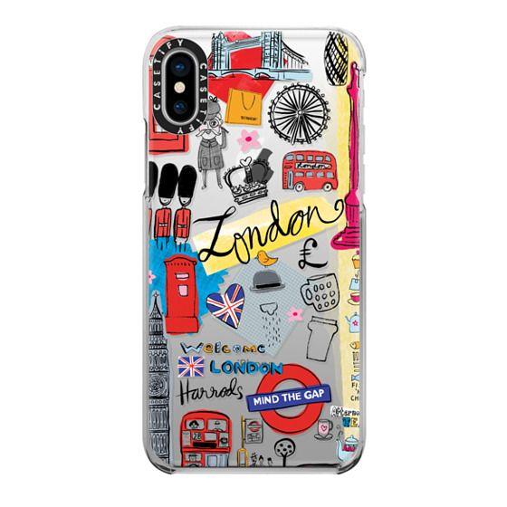 iPhone X Cases - London Travel