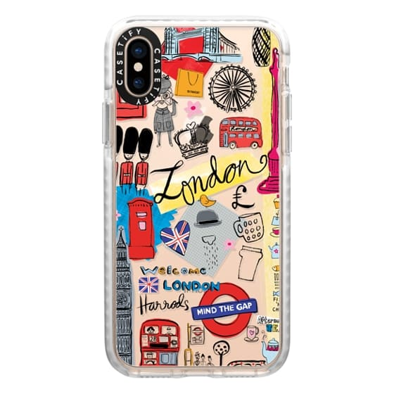 iPhone XS Cases - London Travel