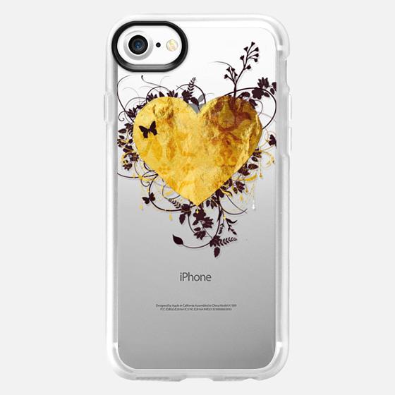 Golden Heart - Snap Case