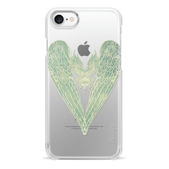 iPhone 7 Cases - Vintage Battered Hart