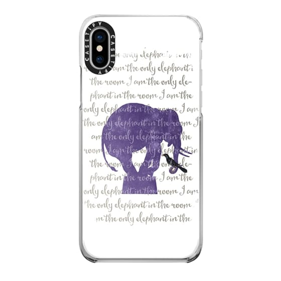 iPhone X Cases - I am the only elephant