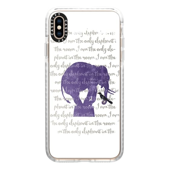 iPhone XS Max Cases - I am the only elephant