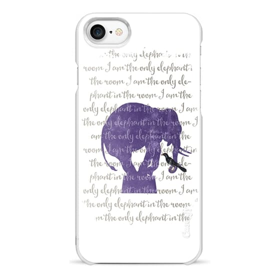 iPhone 7 Cases - I am the only elephant