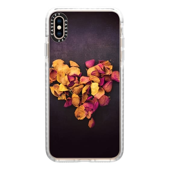 iPhone XS Max Cases - Dried Rose Heart