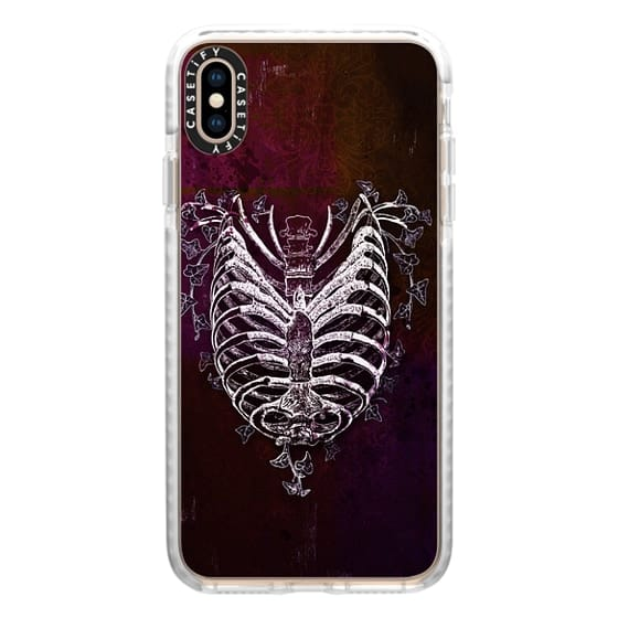 iPhone XS Max Cases - Ribcage Heart