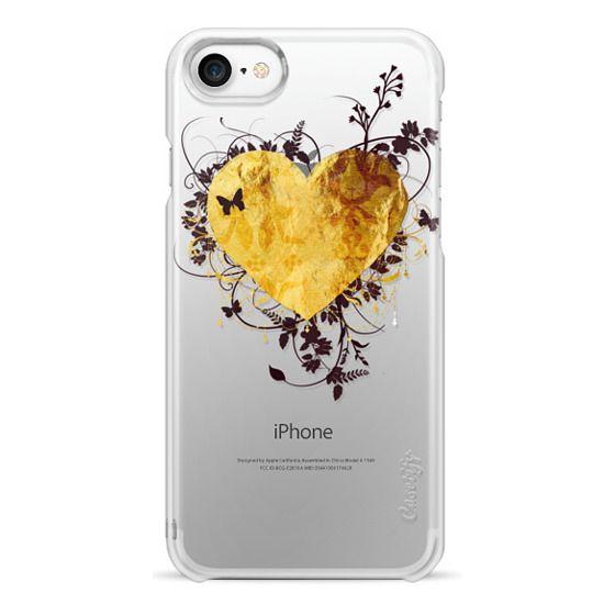 iPhone 7 Cases - Golden Heart