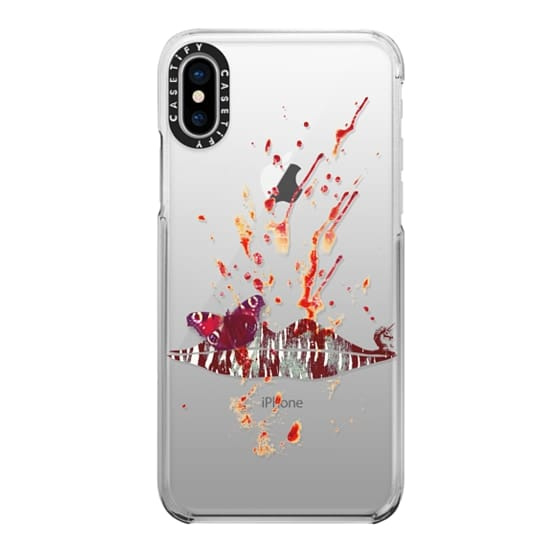 iPhone X Cases - Bloody Lips (Hannibal)