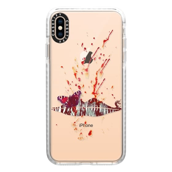 iPhone XS Max Cases - Bloody Lips (Hannibal)