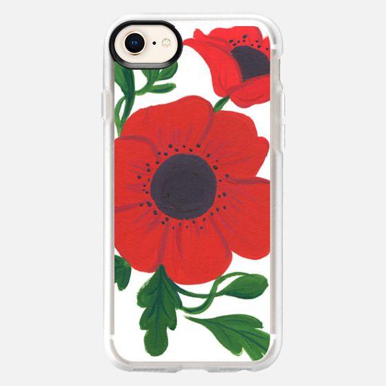 Poppy Floral - Snap Case