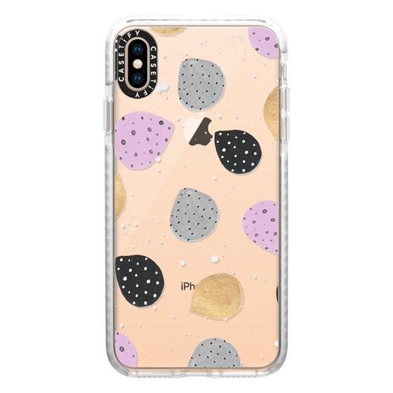 iPhone XS Max Cases - Dino Eggs