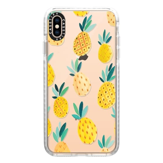 iPhone XS Max Cases - Pineapple Party