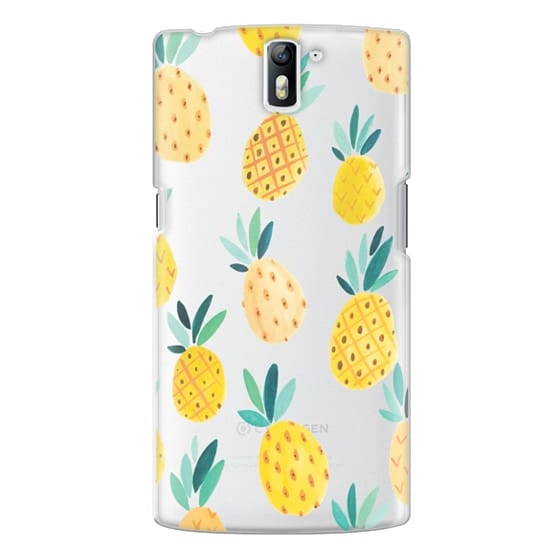 One Plus One Cases - Pineapple Party