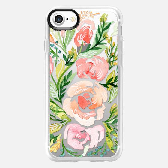 Natalie Malan - Blush Roses iPhone7+ - Snap Case