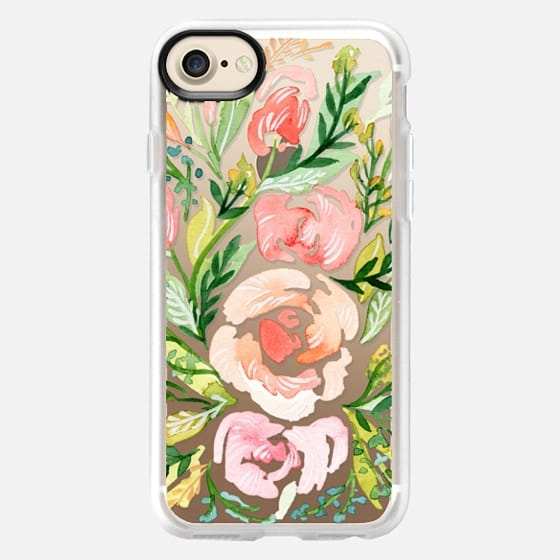 Natalie Malan - Blush Roses iPhone7+ - Classic Grip Case