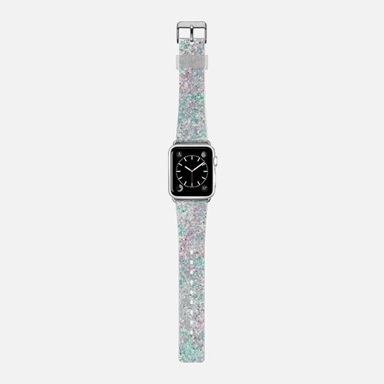 DREAM - Pink Mint Silver Glitter Sparkle Girly Pretty Chic -