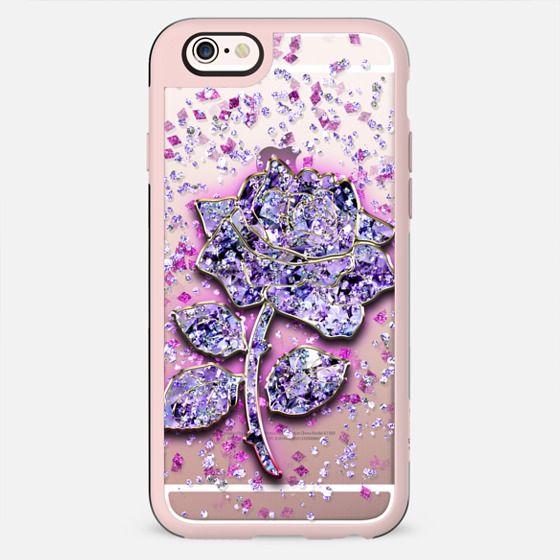 Purple Rose - Crystal - New Standard Case