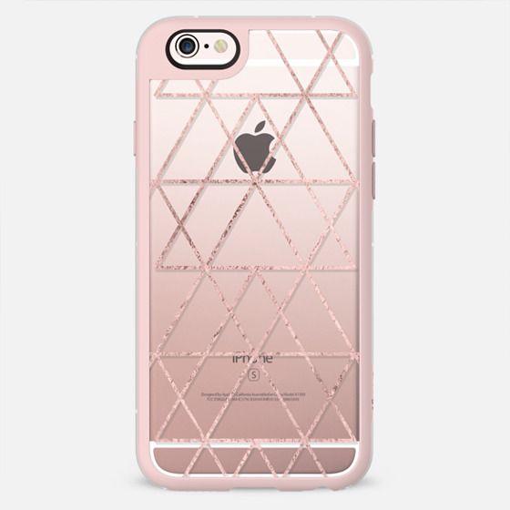 Love Triangle in Rose gold -