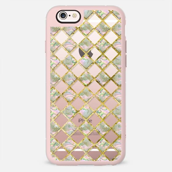 Mother of Pearl Diamonds transparent -